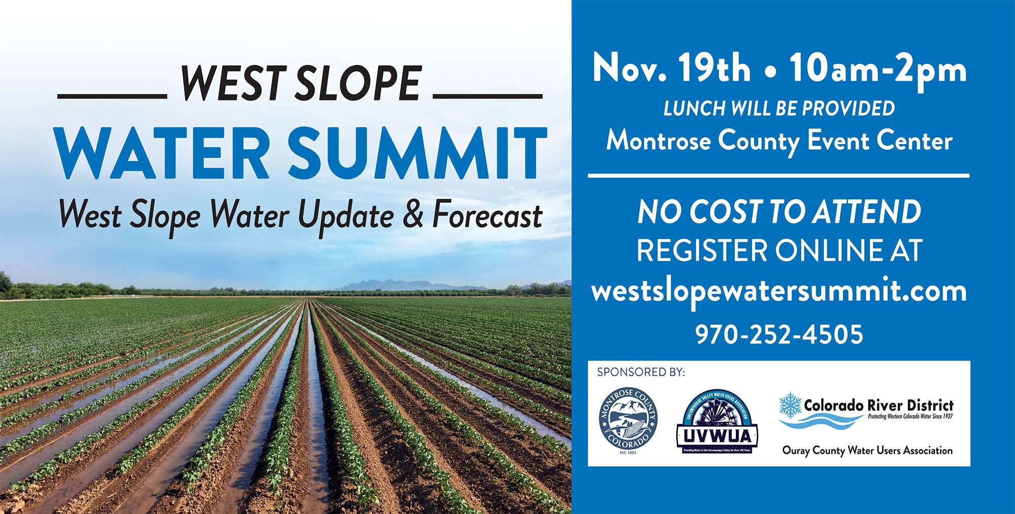 2019 West Slope Water Summit