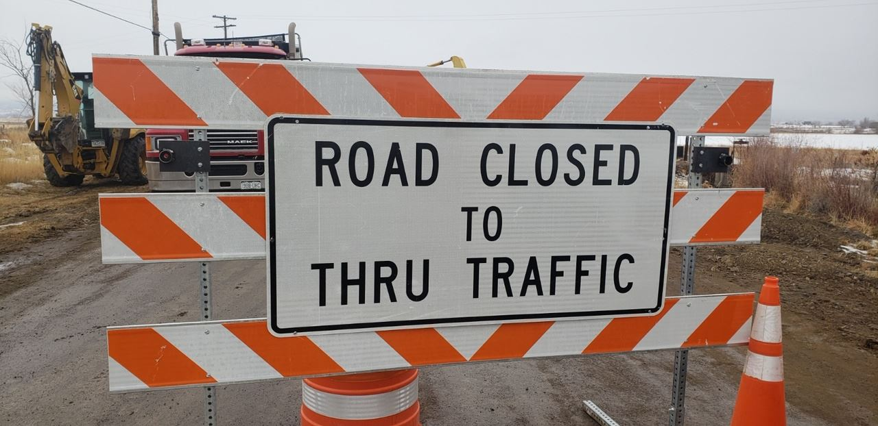 Road Closed Montrose County